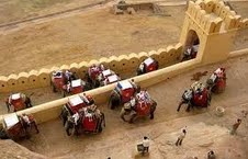 Jaipur is famous for Elephant Ride