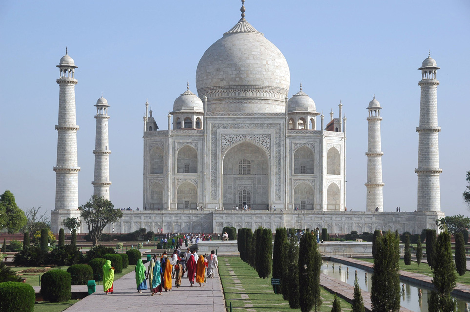 Taj Mahal in Agra - Most Visited Monument of India